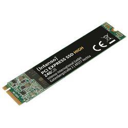Intenso Dysk SSD Wewnętrzny 240GB M.2 2280 PCIE