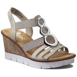 Sandały RIEKER - 65540-40 Grey