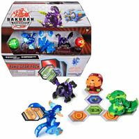 Figurki i postacie, Zestaw Bakugan Batrix Ultra +Baku-Gear Ramparian Ultra