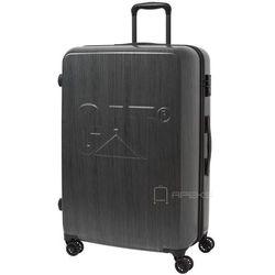 Caterpillar Cat-D duża walizka na kółkach 75 cm CAT / grafitowa - Brushed Steel