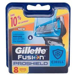 Gillette Fusion Proshield Chill wkład do maszynki 8 szt dla mężczyzn