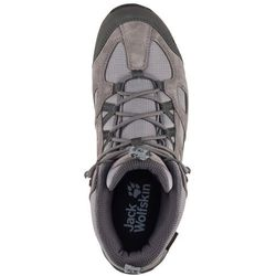 Jack Wolfskin buty turystyczne męskie Vojo Hike 2 Texapore Mid M Tarmac Grey 42