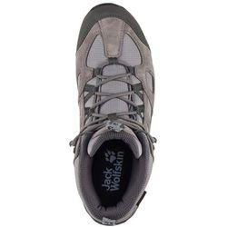 Jack Wolfskin buty turystyczne męskie Vojo Hike 2 Texapore Mid M Tarmac Grey 44,5