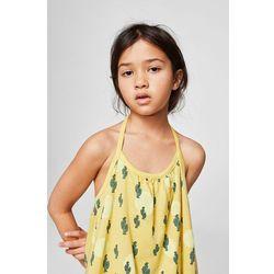 Mango Kids - Sukienka dziecięca Ibiza 104-164 cm