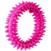 Grzechotki i gryzaki, Ring gryzak kauczukowy S - pink