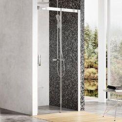 Ravak Matrix drzwi prysznicowe MSD2 - 100 L, wys. 195 cm, Satyna + Transparent 0WLA0U00Z1