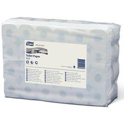 Papier toaletowy, standardowa rolka domowa, z ligniny, 2-warstwowy, biały, opak.