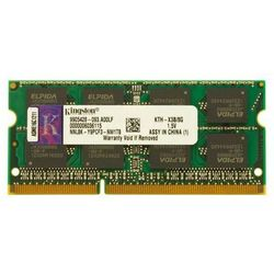 Pamięć RAM 1x 8GB KINGSTON SODIMM DDR3 1333MHz PC3-10600S | KTH-X3B/8G