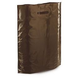 Torba foliowa 200 szt. 250x380 brązowa