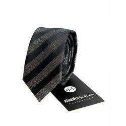 Męski krawat w paski Estilo Sabroso Es03850