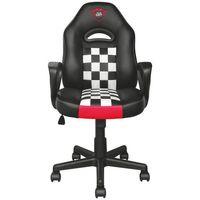 Fotele dla graczy, Fotel TRUST GXT 702 Junior Czarno-biały + DARMOWY TRANSPORT!