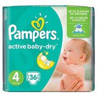 Pieluchy jednorazowe, PAMPERS Active Baby pieluchy 4 Maxi 36szt pieluszki
