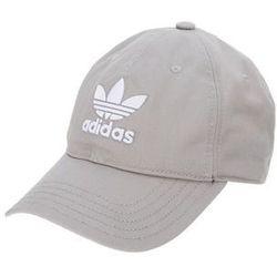 adidas Originals TREFOIL Czapka z daszkiem medium grey heather/solid grey