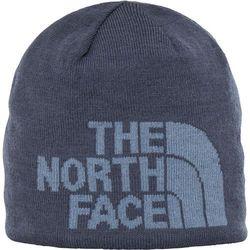 The North Face czapka zimowa Highline Beanie Mid Grey/Graphite Grey Camo Print OS - BEZPŁATNY ODBIÓR: WROCŁAW!