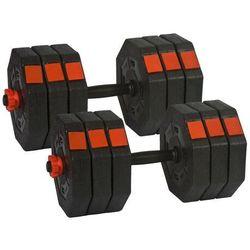Regulowane hantle treningowe Energetic Body 2x15 kg