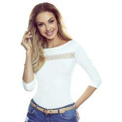 Ines koszulka bawełniana damska Eldar Romantica Active Biała Wiosenna (-8%)