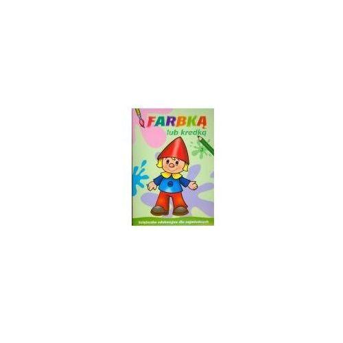 Książki dla dzieci, Książeczka malowanka a4 farbką lub kredką 3 skrzat 374255 (opr. miękka)