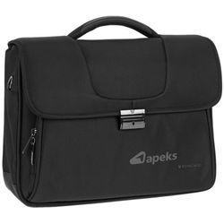 Roncato Clio torba na laptopa 15,6'' / teczka 2kom. / czarna - Black
