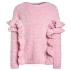 Outfit Kids FLUFFY JUMPER FRILL Sweter pink