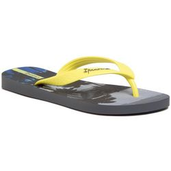 Japonki IPANEMA - Classic VIII Kids 82777 Dark Grey/Neon Yellow 25039