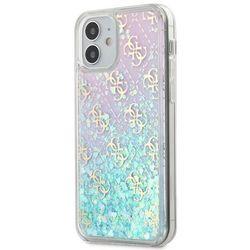 "Guess GUHCP12SLG4GGBLPI iPhone 12 5,4"" różowy/pink hardcase Gradient Liquid Glitter 4GGuess / GUE000859"