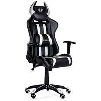 Fotele dla graczy, Fotel DIABLO CHAIRS X-One Horn Czarno-biały DARMOWY TRANSPORT