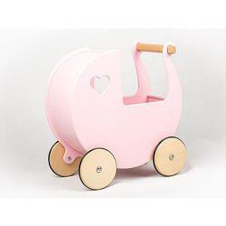Mini wózek dla lalek Moover Bajkowy róż