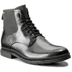 Kozaki CLARKS - Londonpace Gtx GORE-TEX 261269287 Black Leather