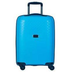 PUCCINI walizka mała/ kabinowa z kolekcji PP010 HAVANA twarda 4 koła materiał polipropylen zamek szyfrowy TSA
