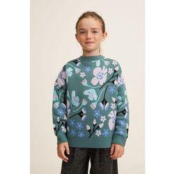 Mango Kids - Sweter dziecięcy Flor 110-152 cm