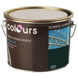 Farba antykorozyjna Colours ciemna zielona 2,5 l