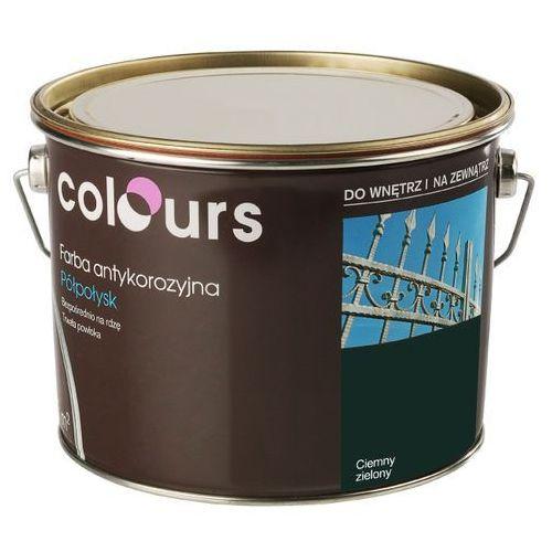 Farby, Farba antykorozyjna Colours ciemna zielona 2,5 l