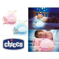 Pozostałe zabawki dla najmłodszych, CHICCO Projektor gwiazde k niebieski
