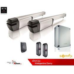 Zestaw SOMFY IXENGO 1216435 L 230V RTS Standard napęd do bramy skrzydłowej 6 m/700 kg