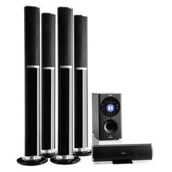 Auna Areal 652 5.1-kanałowy system audio surround 145 W RMS Bluetooth USB SD AUX