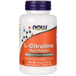 L-cytrulina proszek L-cytrulline powder 113g NOW FOODS