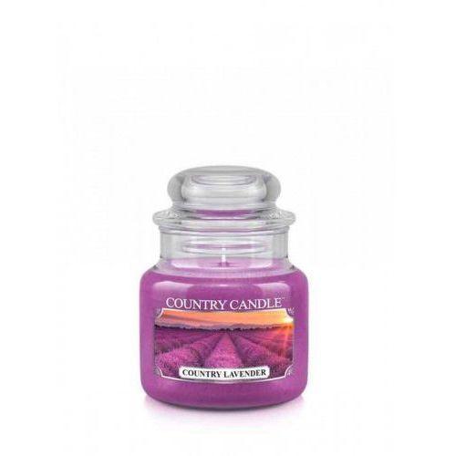 Pozostała aromaterapia, Country Candle - Country Lavender - Mały słoik (104g)