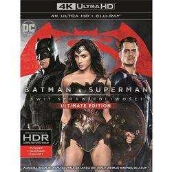 Batman v Superman: Świt Sprawiedliwości (4K Ultra HD) (Blu-ray) - Zack Snyder DARMOWA DOSTAWA KIOSK RUCHU