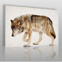 Obrazy, Wataha leśnych szumów - nowoczesny obraz na płótnie