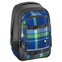 Tornistry i plecaki szkolne, plecak szkolny SELBY kolor: woody blue