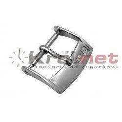 Sprzączka / klamerka stalowa - 8, 10, 12, 14, 16, 18, 20, 22 mm, polerowana