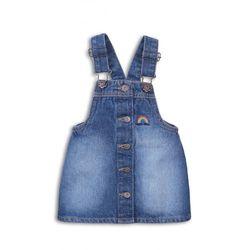 Spódnica jeansowa dla dziewczynki 3Q38A8 Oferta ważna tylko do 2023-07-03