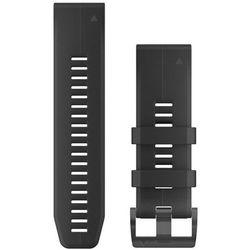 Garmin QuickFit Silikonowy pasek do zegarka 26mm, black 2020 Akcesoria do zegarków