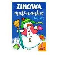 Książki dla dzieci, Malowanka 165x235 zimowa cz1 lit (opr. broszurowa)
