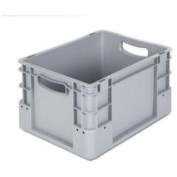 Pojemnik przemysłowy,poj. 20 l, dł. x szer. x wys. 400 x 300 x 220 mm, opak. 5 szt.