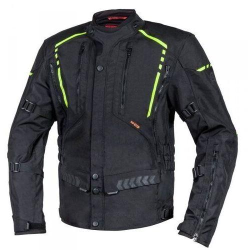 Pozostałe akcesoria do motocykli, Ozone kurtka tekstylna tour ii black/flo yellow
