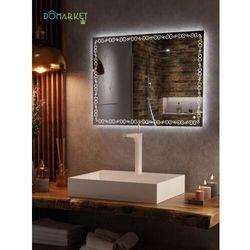 Lustro z oświetleniem ledowym do łazienki: ALISA-12