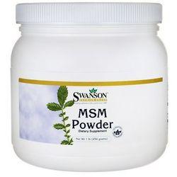 Swanson MSM Metylosulfonylometan 100% proszek 454g