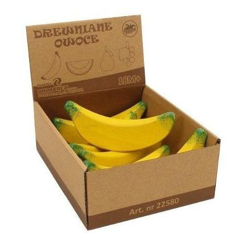 Zabawki z drewna, BRIMAREX Drewniany Banan