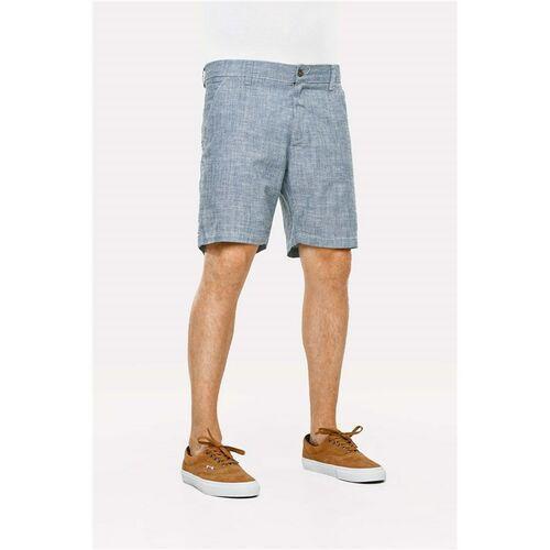 Pozostała odzież męska, szorty REELL - Miami Chino Chembray Blue (CHEMBRAY BLUE) rozmiar: 36